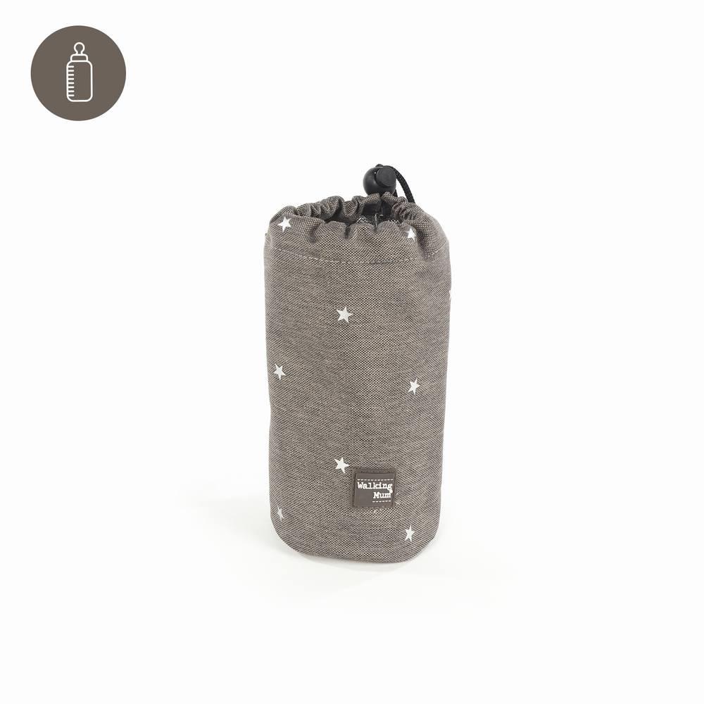 Portabiberones gaby gris