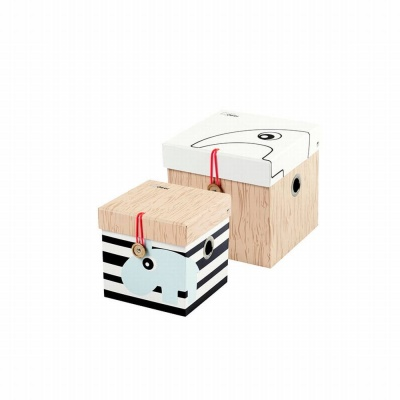 Square box set, 2 pcs., small