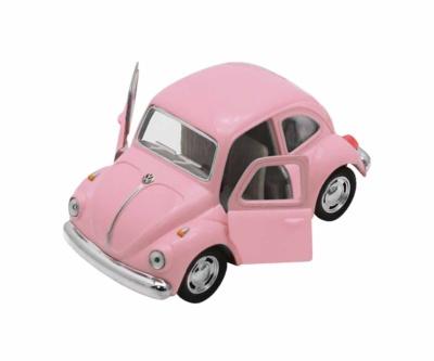 Coche Beetle rosa