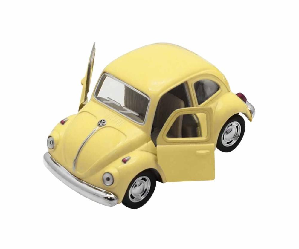 Coche Beetle amarillo