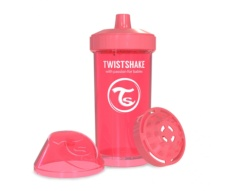 Vaso Twistshake Fruit Splash coral 360cc
