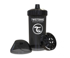 Vaso Twistshake Fruit Splash negro 360cc