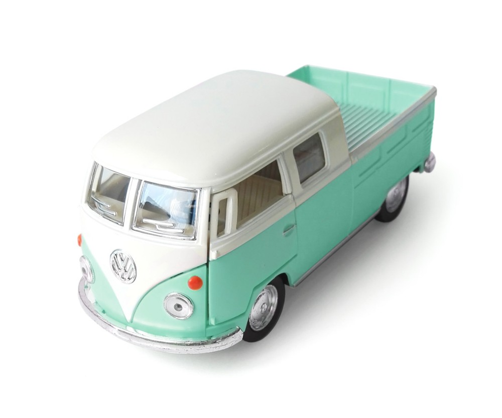 Furgoneta verde VW