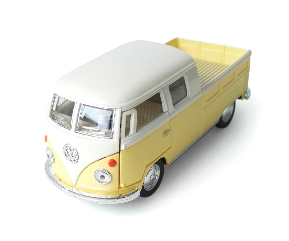 Furgoneta amarilla VW