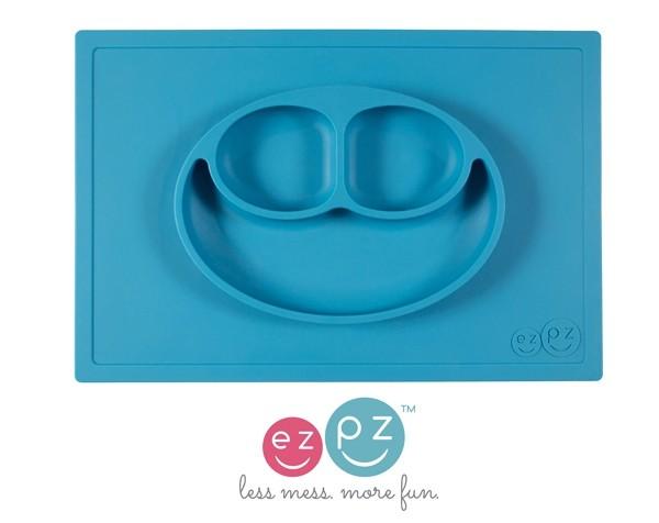 Placemat+plate color Azul