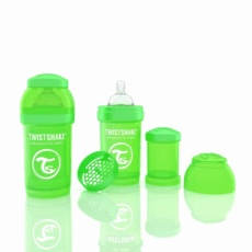 Biberón Twistshake 180ml Verde