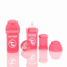 Biberón Twistshake 180ml Coral