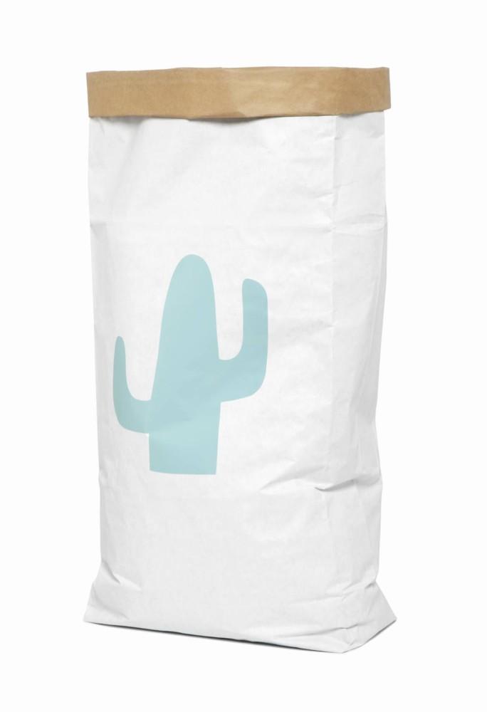 Saco organizador de papel grande cactus menta original - Ítem1