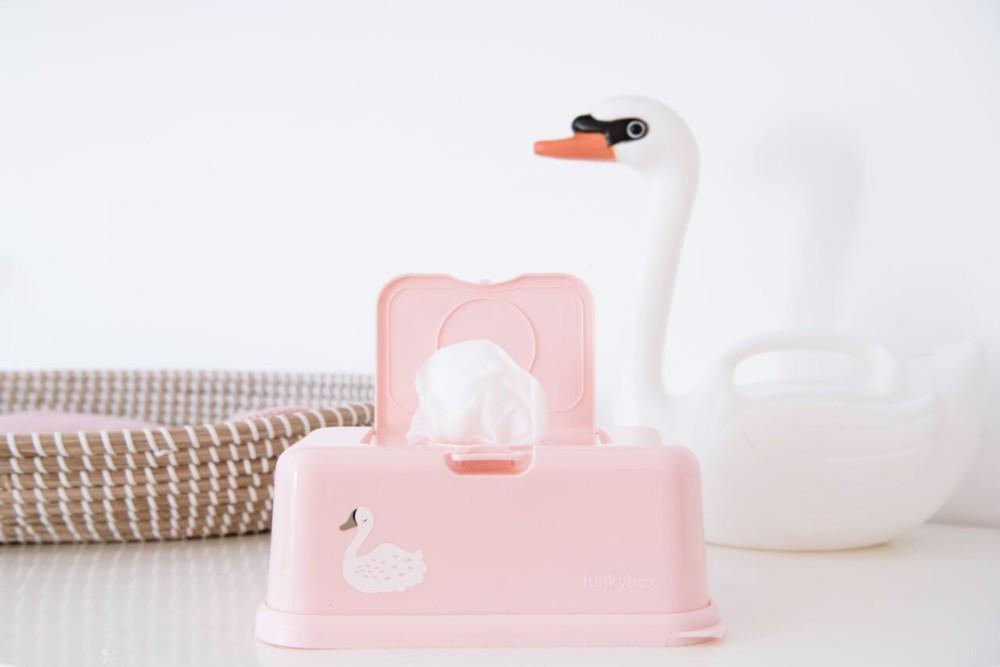 Funkybox rosa nude cisne - Ítem1