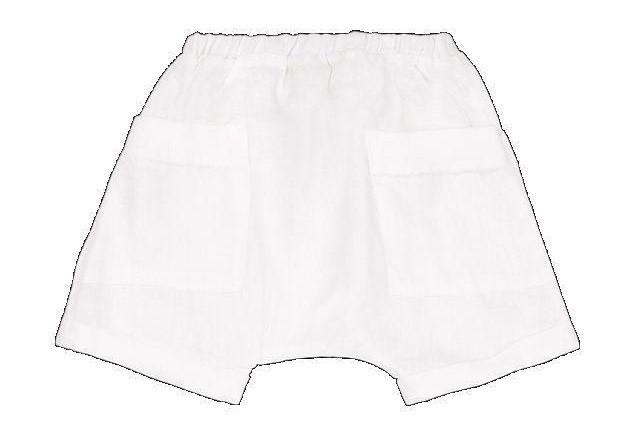 Pantalon corto Bonnard color blanco - Ítem1