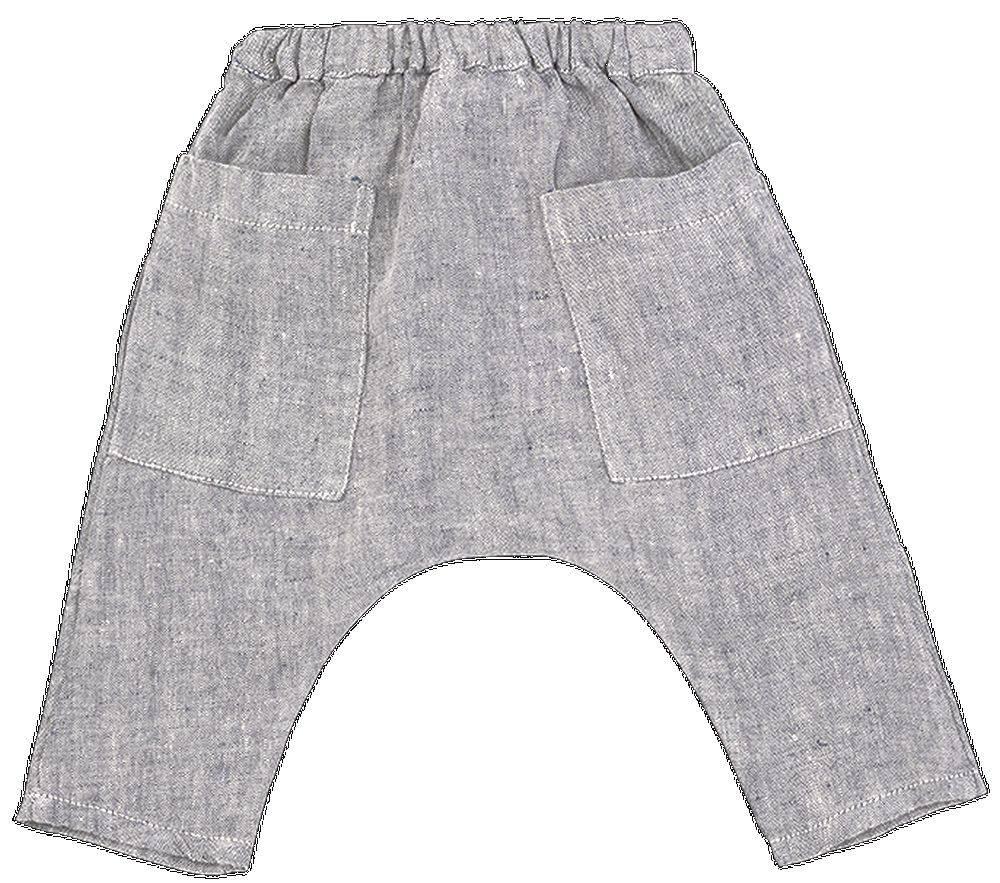 pantalon largo braque color azul - Ítem1