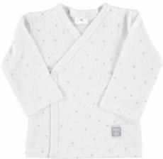Camiseta cruzada estrella celeste t.0-3m