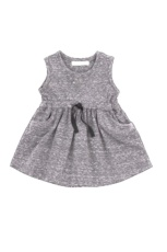 Vestido cintia antracita t.6m