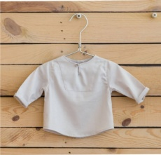 Camisa blanca cubo t.3m