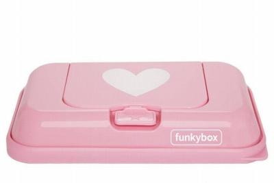 Funkybox to go rosa corazón