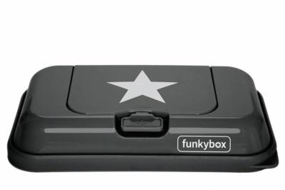 Funkybox to go gris oscuro estrella