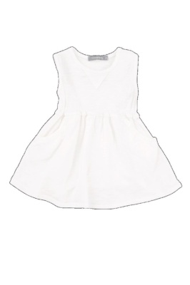 Vestido isaura blanco t.3m