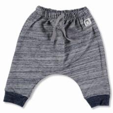 Navy cotton fleece pantsT3-6m