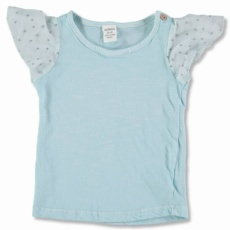 Cotton- printed Voile t-shirtT3-6m