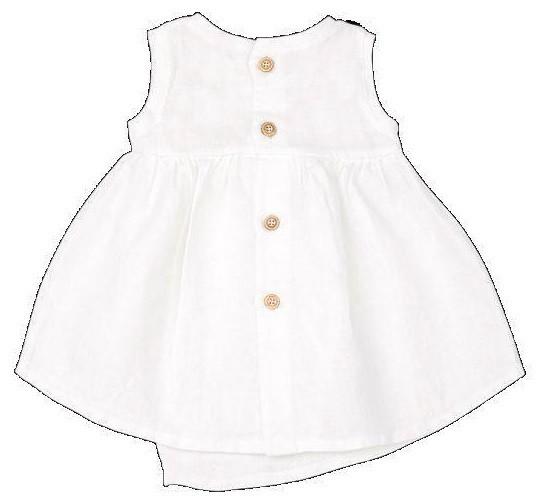 Vestido blanco Sonsoles - Ítem1