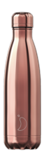 Botella termo líquidos rose gold 500ml