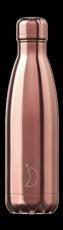 Botella termo líquidos rose gold 500ml