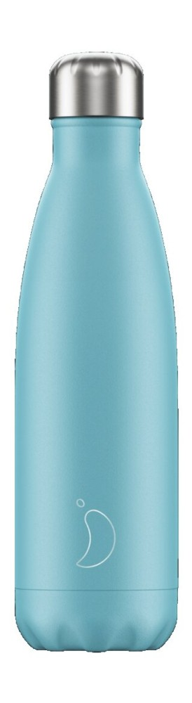 Botella termo líquidos azul 500ml