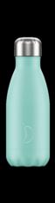Botella termo líquidos verde 260ml