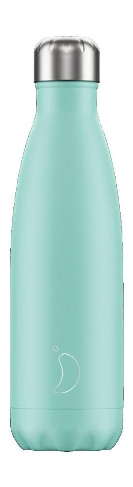 Botella termo líquidos verde 500ml