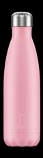 Botella termo líquidos rosa pastel 500ml