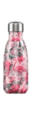 Botella termo líquidos tropical rosa 260ml
