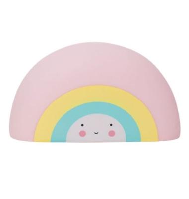 Juguete de baño arcoiris
