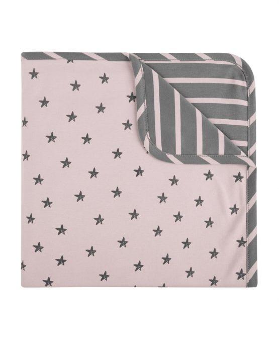 Arrullo algodon XL little star rosa Baby clic