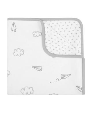 Arrullo algodon XL paper plane blanco Baby clic