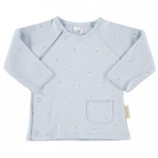 Camiseta cruzada t.0-3m blue ship t.0-3m
