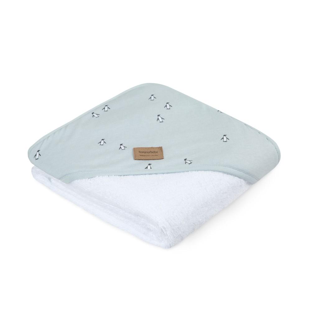 Capa de baño XL pingu mint