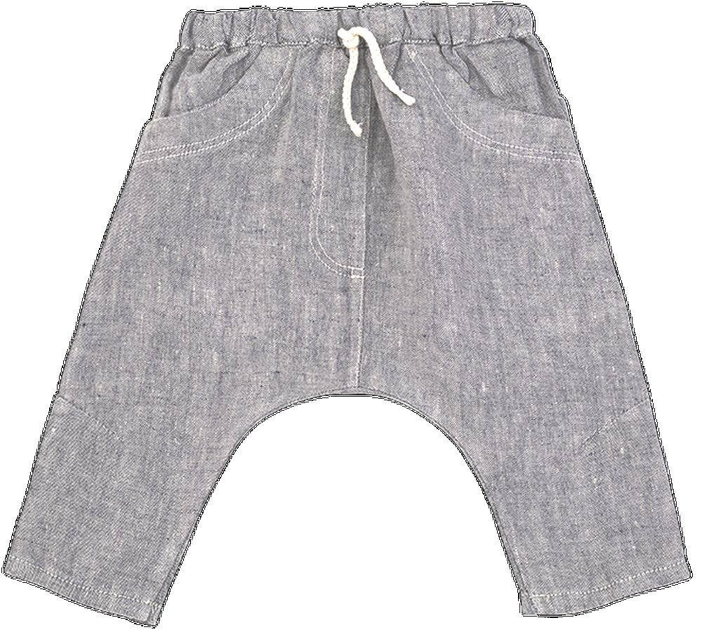 pantalon largo braque color azul