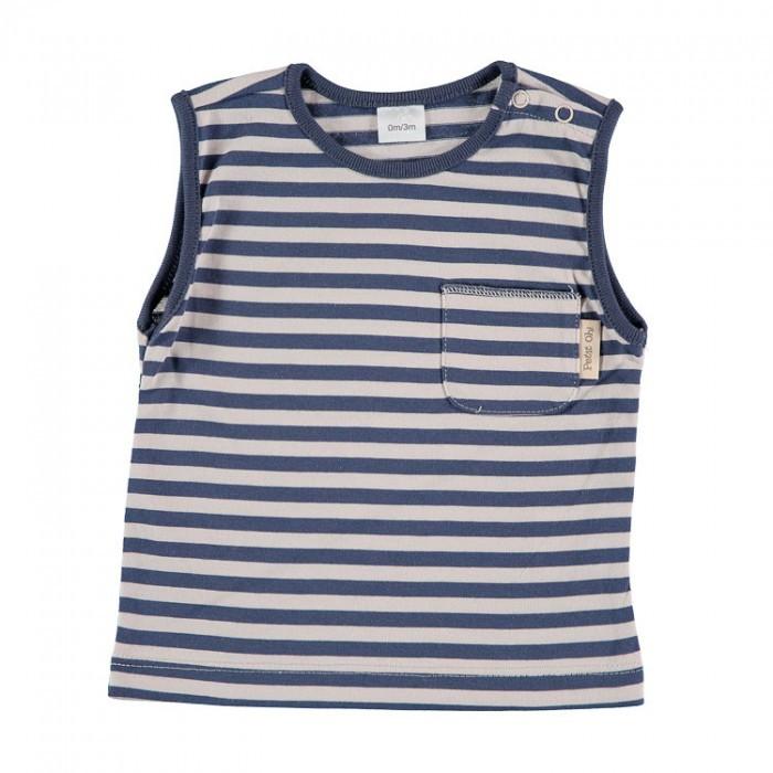 Camiseta sm azul t.3-6m