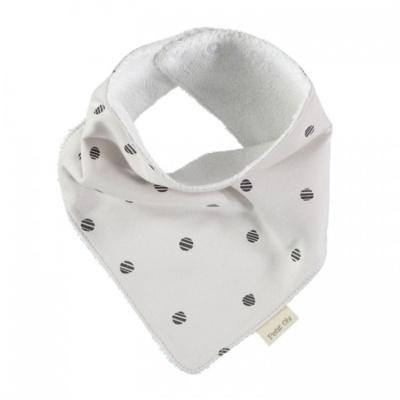 Pañuelo beige dots