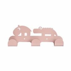Ganchos de pared amigos ciervo rosa