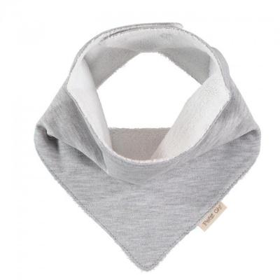 Pañuelo gris liso