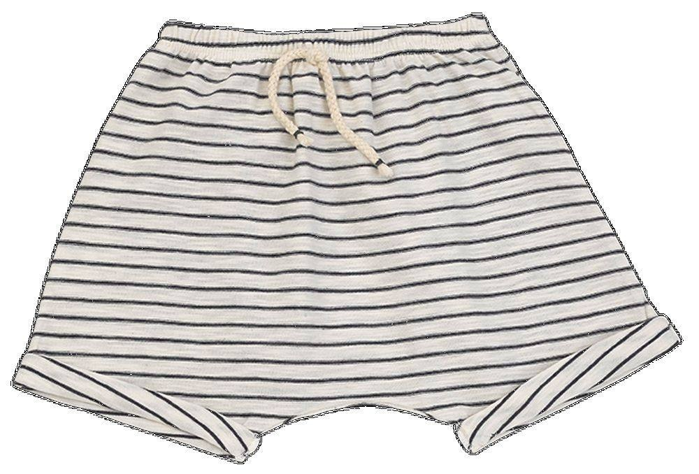 Pantalon corto rayas marino