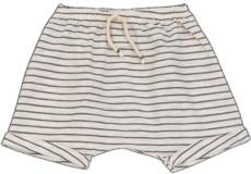 Pantalon corto rayas cacao - Ítem