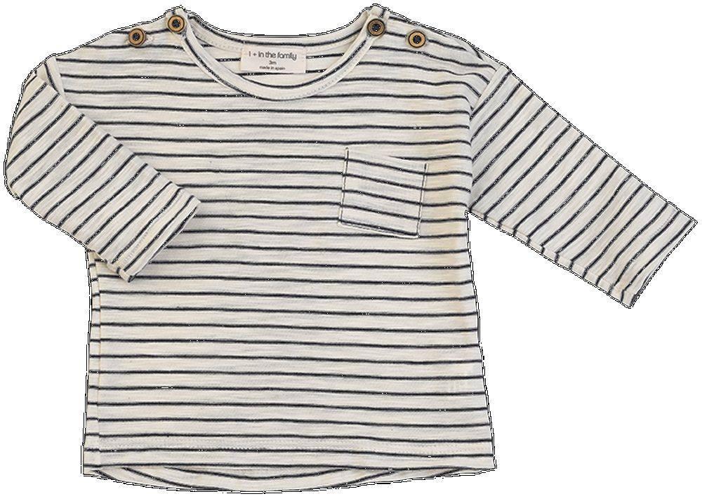 Camiseta ml renoir rayas marino