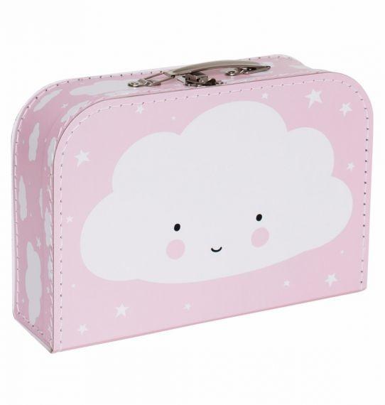 Maleta nube rosa