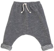 Pantalón largo tristan jaspeado azul