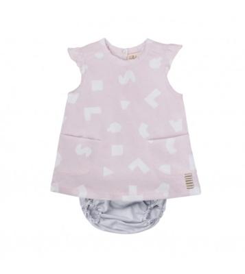 Vestido rosa clic mini