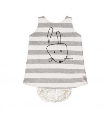 Vestido+culotte sweet bunny