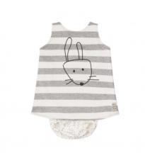Vestido+culotte sweet bunny - Ítem