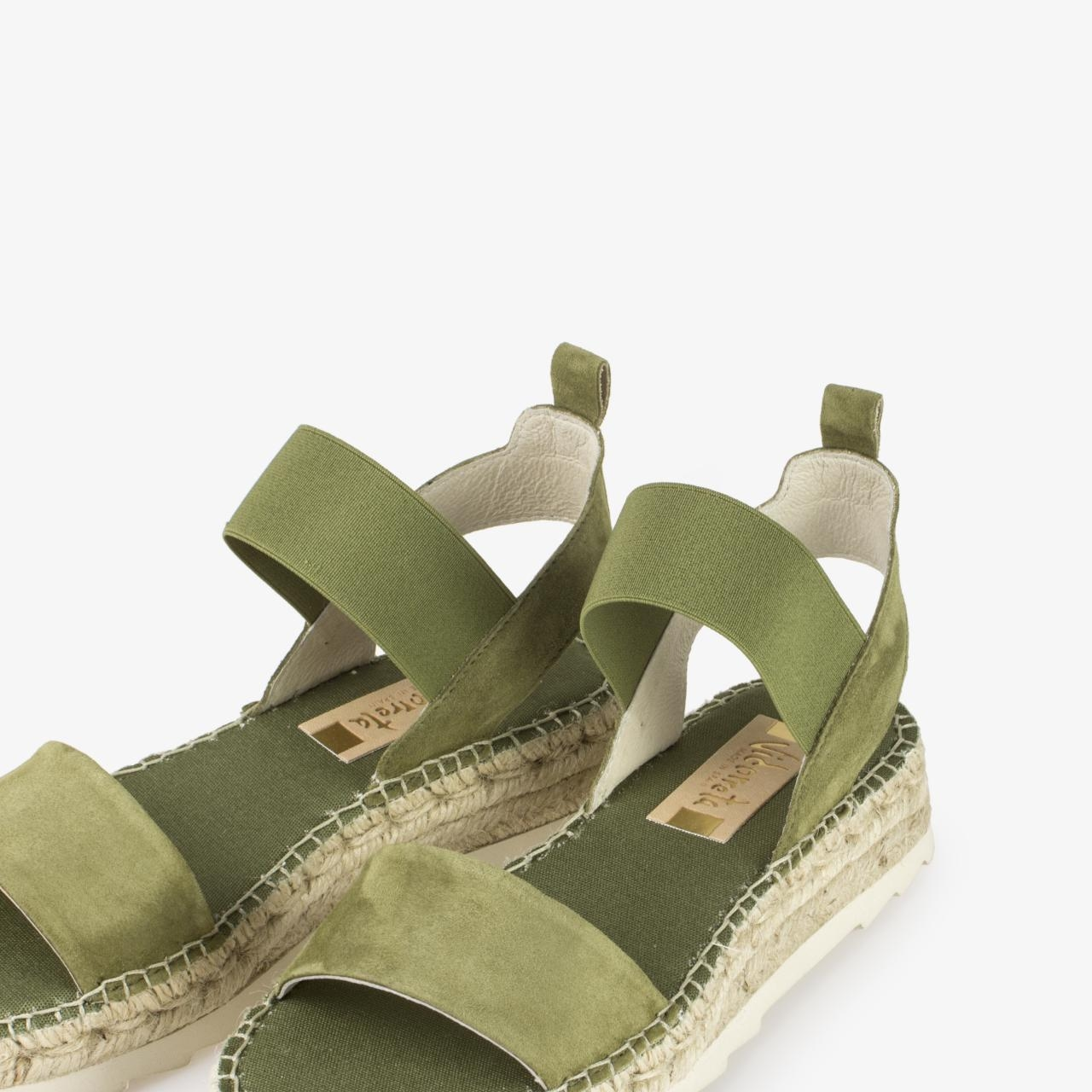 Sandalia Yute Piel Verde - Ítem2